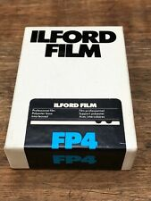 Ilford FP4 Sheet Film
