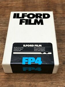 Ilford FP4 Sheet Film