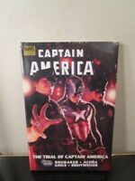 Captain America The Trial Of Premiere Edition Marvel HC Hard Cover New Sealed ~