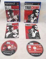 Crimen verdadero: la ciudad de Nueva York & calles de la (Sony Playstation 2 Paquete)