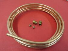 NEW 1932-48 Ford copper plated steel fuel line replacement 12' length 18-9282