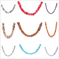 Wholesale 2-4mm Czech Glass Seed Spacer Beads Bracelet Necklace Jewelry Making