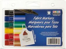 Fabric Markers Marvy Uchida PRIMARY BOLD TIP 520-6A