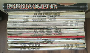 Elvis Presley | Sammlung 53 LPs made in England - englische Pressungen