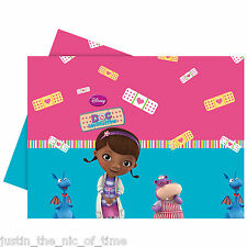 DOC MCSTUFFINS Birthday Party Tableware Plastic TABLECOVER x1