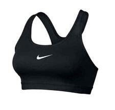 NEW NIKE [XXL] Women's DRI-FIT Padded Medium Support Sports Bra-Black 823312-010
