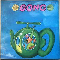 GONG THE FLYING TEAPOT 1ST PRESS UK 1973 VIRGIN VINYL LP V2002 RARE MISPRESS