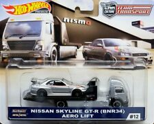 Team Transport  Nismo Nissan Skyline GT-R BNR34 Aero Lift  #12 1:64 Hot wheels C
