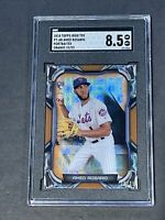2018 Bowman High Tek Portraitek /25 Amed Rosario True RC Rookie SGC 8.5