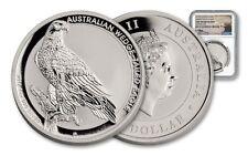 2016 $1 Australia Wedge Tailed Eagle Silver Dollar GEM BU ~ Mercanti Signed