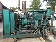 Vintage General Motors Detroit Diesel Engine With Leroi Westinghouse Transmission