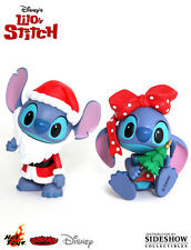 FIGURE SET LILO & STITCH CHRISTMAS COSBABY SANTA CLAUS E AND NATALE DISNEY #1