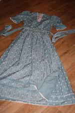 KL4781 @ Dirndl + Schürze oldschool @ hochgeschlossen Vintage Trachtenkleid @ 38