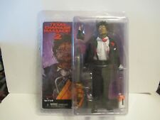 """NECA 8"""" The Texas Chainsaw Massacre 2 Leatherface Clothed Retro Action Figure"""