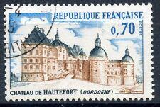 STAMP / TIMBRE FRANCE OBLITERE N° 1596 CHATEAU DE HAUTEFORT DORDOGNE
