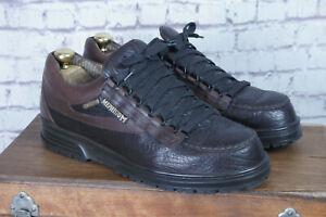 Mephisto Trampolins - UK 10 GoreTex - Men's Leather Comfort Shoes Brown - Superb