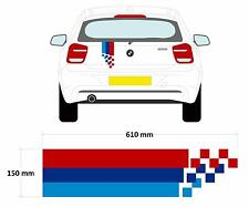 BMW M Style Car Decal Graphic Stripe 3 Series, 1 Series, 5 Series
