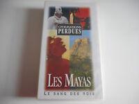K7 VHS / CASSETTE VIDEO -LES MAYAS / LE SANG DES ROIS -LES CIVILISATIONS PERDUES