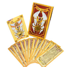 Cardcaptor Sakura 54 cards with boxes Captor Sakura Clow Cards Cosplay Anime