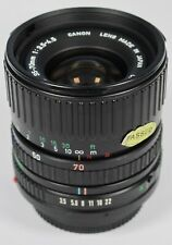 Canon 35-70mm f/3.5-4.5 FD Manual Focus Lens fits A-1 AE-1 T90 T70 F-1 etc Boxed