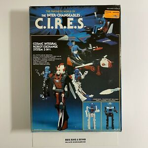 Hourtoy Takara Micronauts The Inter-Changeables C.I.R.E.S. MIB New Unused