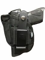 """Nylon Gun holster With Magazine Pouch fits Walther P-22 3.4"""" Barrel with Laser"""