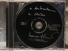 LUDOVICO EINAUDI - SOTTO FALSO NOME - CD AUTOGRAFATO da LUDOVICO EINAUDI
