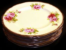 Royal Albert American Beauty Dinner Plates (8 available)