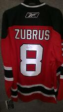 NJ Devils Dainius Zubrus Jersey Autographed XL New with tags Free Shipping