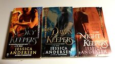 Lot of 3 Jessica Andersen The Final Prophecy Novels, Paperback SF8