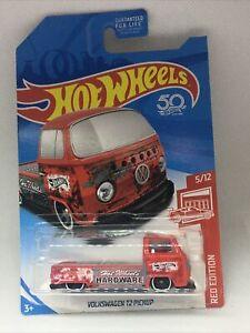 Hot Wheels Volkswagen T2 Pickup Target Red Edition