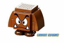 LEGO Super Mario - Goomba angry - buildable minfigure & tile FREE POST