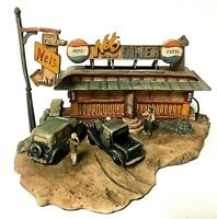 Vintage Schmid BFA Lowell Davis NEL'S DINER Route 66 Pepsi Limited Figurine