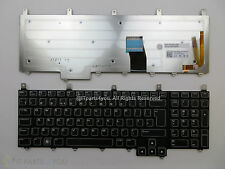 New Genuine Dell Alienware M17X M18X Black UK Keyboard Backlit 3CM9P / 03CM9P