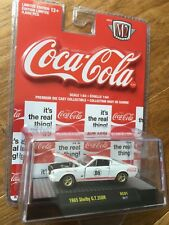 M2 MACHINES COCA-COLA 1965 SHELBY GT350R 1 of 9600 Limited Edition