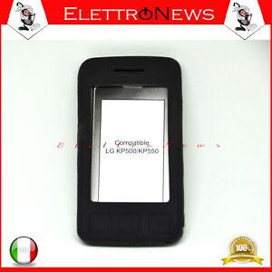 Custodia cover tpu per LG KP500 Nero