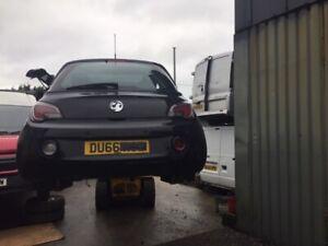 Vauxhal Adam 66 reg 1.4 petrol car for spares or repairs 1 wheel nut