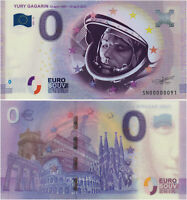 Russia 0 Euro 2021 Yuri Gagarin, 60 years of the first human spaceflight UNC