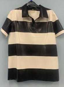 Libidex Latex Mens Menace Polo Shirt. Large. Fetish/Rubber/Gummi