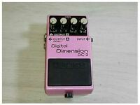 BOSS DC-3 Digital Space-D Chorus Guitar Effects Pedal MIJ w/Tracking number F/S