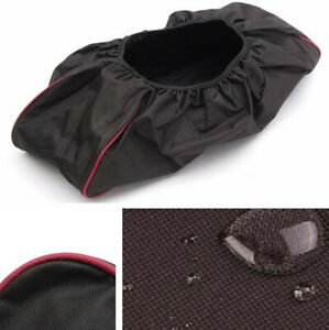 Black Waterproof Oxford Cloth Winch Capstan Dust Cover 8000-17500lbs Trailer Car