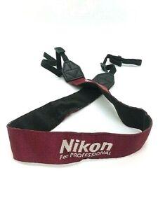 """【Excellent+++++】Nikon Neck/Shoulder Strap """"For Professional""""  from JAPAN"""