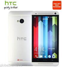 HTC One M7 Android OS4.1  LTE Silver 32GB 4MP Quad-core Smartphone UnlockedEU