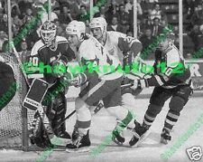 Bob Probert, Joe Kocur DETROIT Red Wings-8 X 10 B/W PHOTO-NHL hockey #dtpk24gs