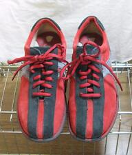 BORN Vintage Red/Black Oxfords Bowling-Style Lace-Up Shoes Sz. 9.5 EUC Rare FUN!