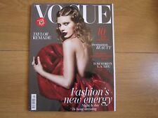 Vogue British Magazine January 2018 Taylor Swift,New.