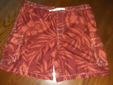 ISLAND SHORES Men's Casual Board Shorts Size M (see measurements)