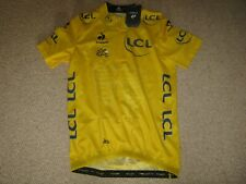 TOUR DE FRANCE 2015 LCS YELLOW LEADERS CYCLING JERSEY [L] BNWT