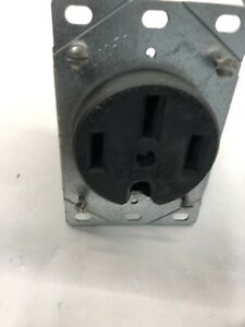 Eagle Receptacle 4 Wire 50A 125/250V Nema 14-50R Welder Generator 4 pin Neutral