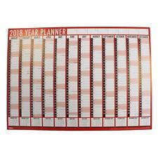 Tallon 2018 Large Year Wall Planner Calendar 84cm x 60cm